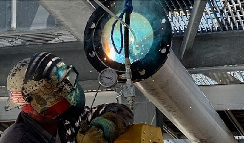 Specialty Mechanical - Pipe Isolation and Weld Testing