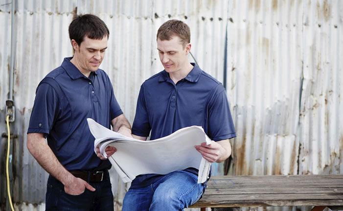 Paul and Jon Leach