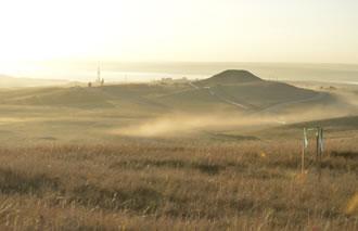 oil field landscape
