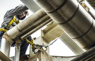 man working pipeline