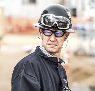 safety goggles and hat