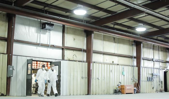 industrial insulation site