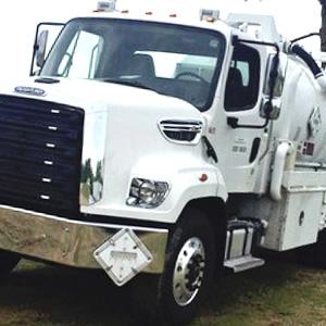 large truck cab