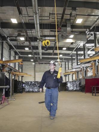 man in fabrication shop